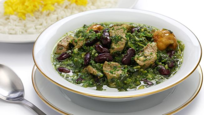one of our delicious Ghormeh Sabzi dishes